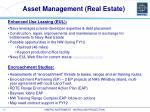 asset management real estate