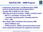 navfac nw srm projects