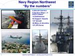navy region northwest by the numbers