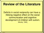 review of the literature2