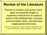 review of the literature3
