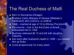 the real duchess of malfi
