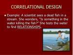 correlational design12