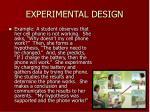 experimental design15