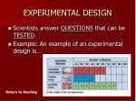experimental design19