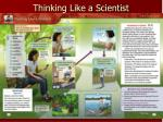 thinking like a scientist10
