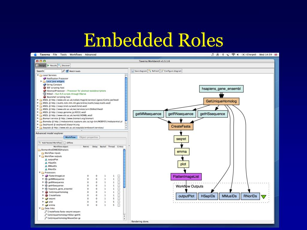 Embedded Roles