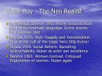 bimal roy the neo realist
