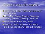 diasporic indian film makers