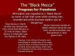 the black mecca progress for freedmen