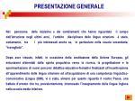 presentazione generale