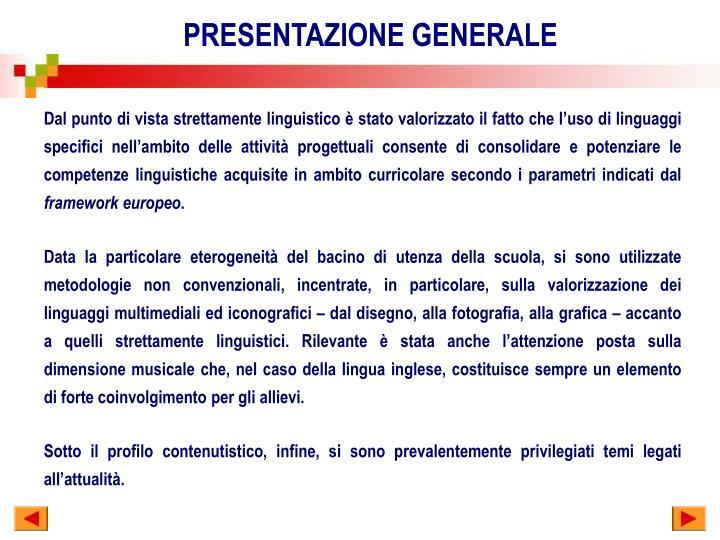 Ppt Progetti Ed Attivita Integrative Realizzati Nellambito Della