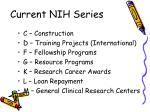 current nih series