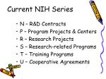 current nih series10