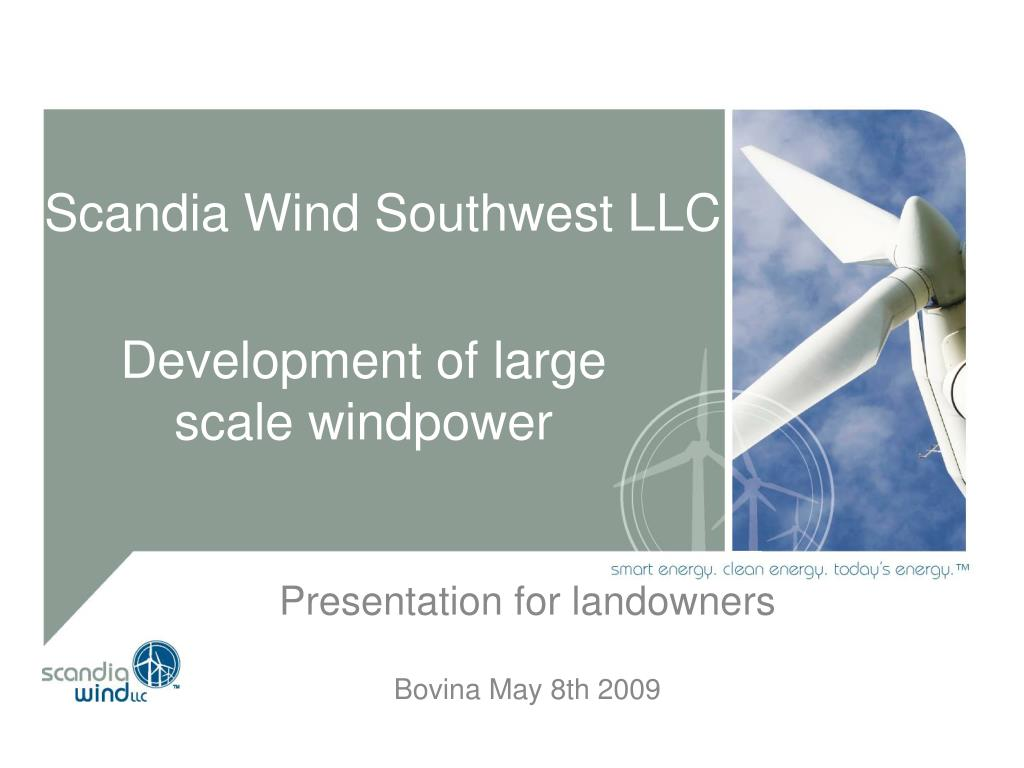 scandia wind southwest llc l.