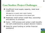 case studies project challenges