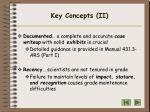 key concepts ii