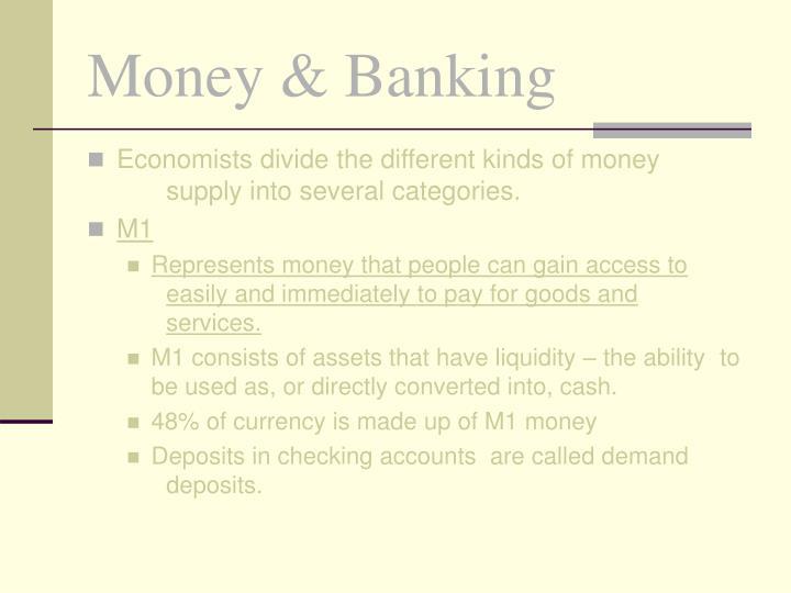 Money banking3