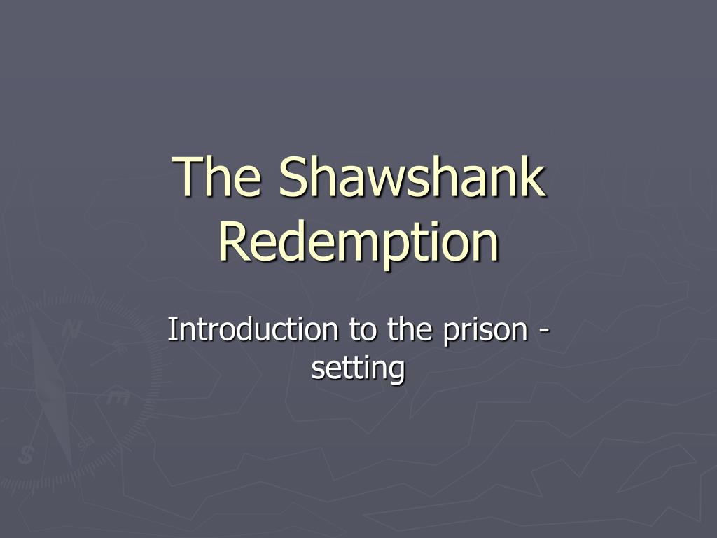 the shawshank redemption l.