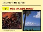 15 steps to the payline87
