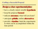 crafting a successful proposal75