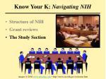 know your k navigating nih44