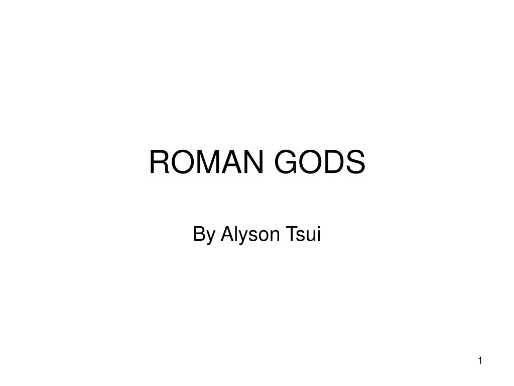 roman gods l.