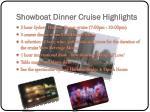 showboat dinner cruise highlights