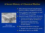 a secret history of chemical warfare