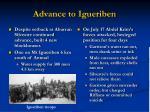 advance to igueriben