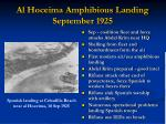 al hoceima amphibious landing september 1925