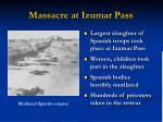 massacre at izumar pass