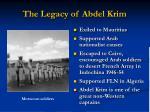 the legacy of abdel krim