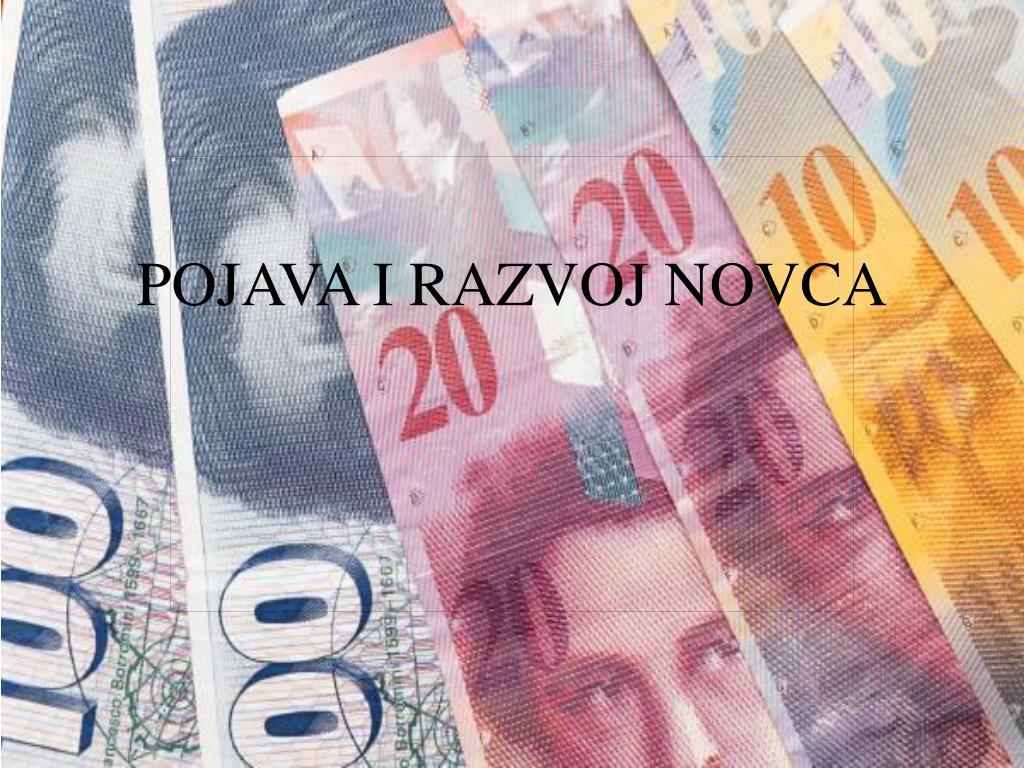 pojava i razvoj novca l.