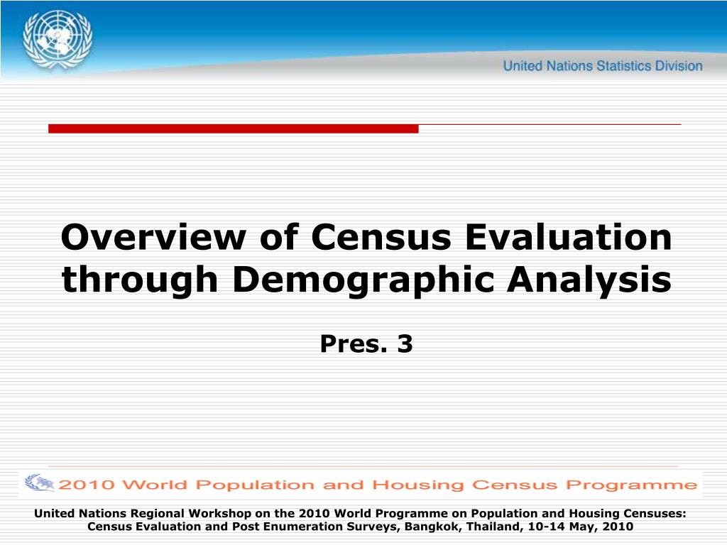 Overview of Census Evaluation