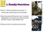 i family nutrition