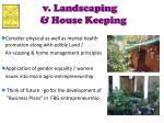 v landscaping house keeping
