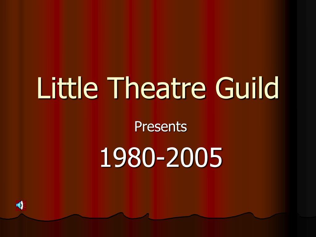 little theatre guild l.