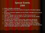 special events 1984