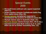 special events 2000