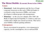 the heisei bubble economic boom in late 1980s