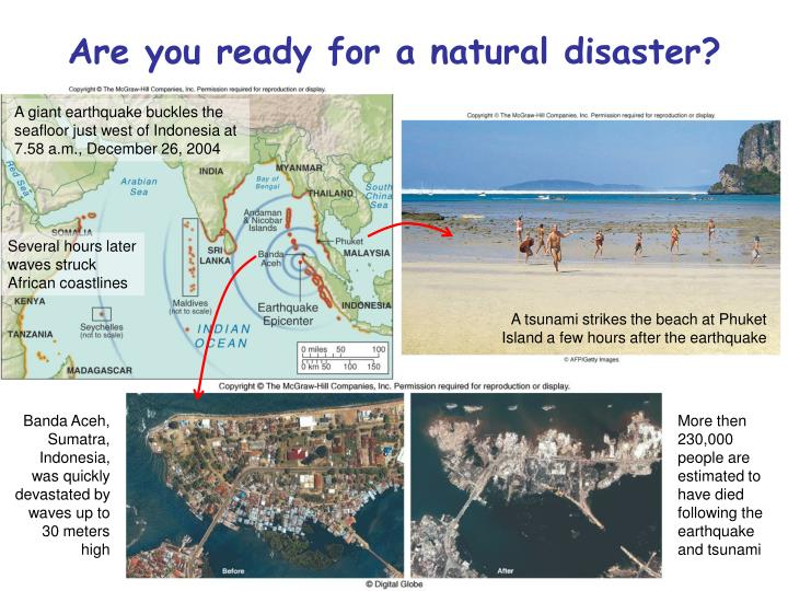 Are you ready for a natural disaster
