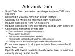 artsvanik dam