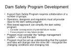 dam safety program development