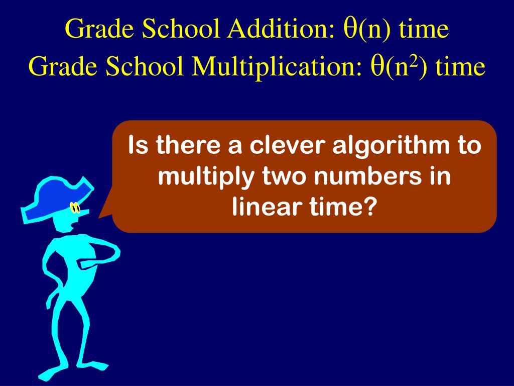 Grade School Addition: