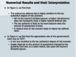 numerical results and their interpretation18