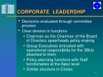 corporate leadership1