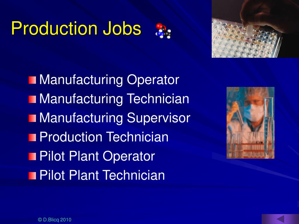 Production Jobs