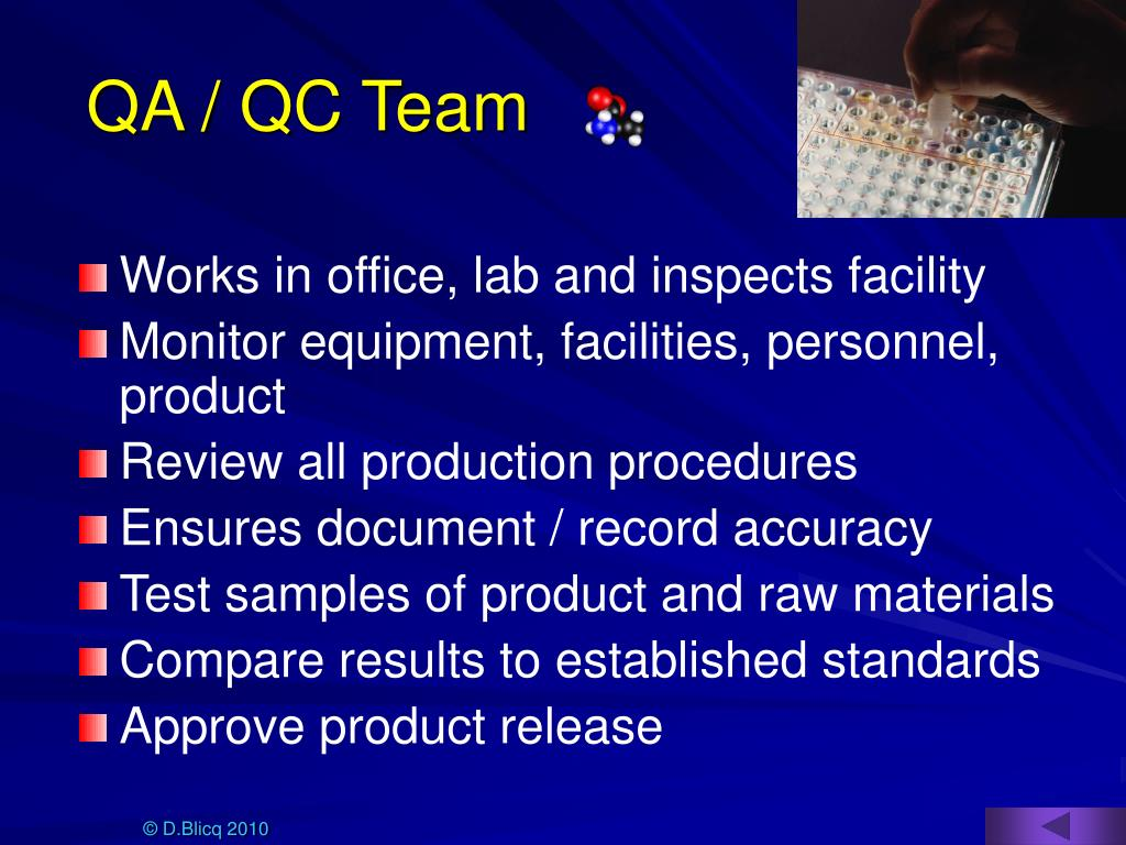 QA / QC Team