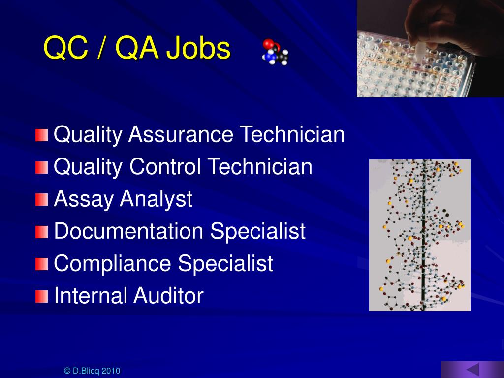 QC / QA Jobs